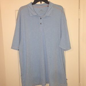 Tommy Bahama Blue Polo. Sz: XXL.